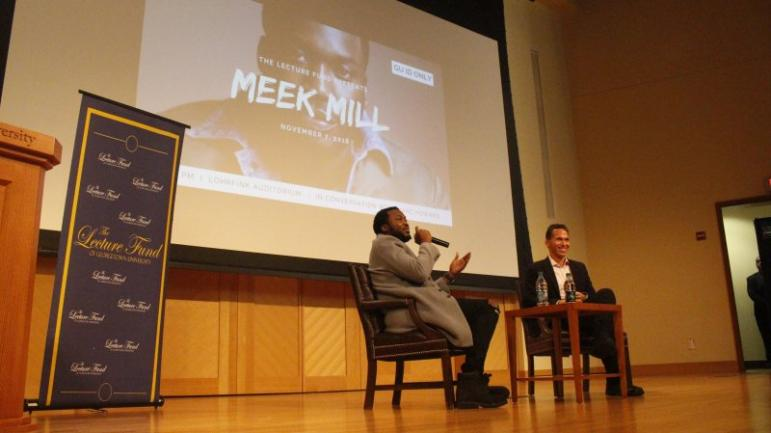 Meek Mill and Marc Howard