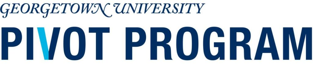 Georgetown University Pivot Program Logo