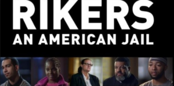 """Rikers: An American Jail"" movie banner"